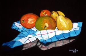 Natura morta [2007] - Olio su Tela (40 x 60 cm)