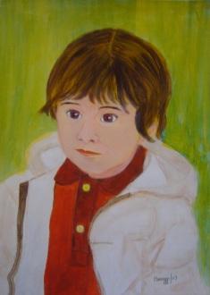 Bozzetto, Giò 2003 - Acquerello su cartoncino (29,5 x 40 cm)