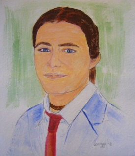 Pierpaolo 2008 -Acquerello su cartoncino (24,3 x 28,3 cm)