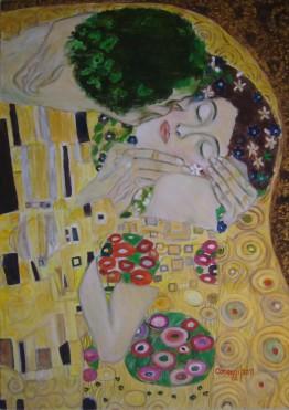 Il Bacio [2017] - Acrilico su tela Gallery (50 x 70 cm)