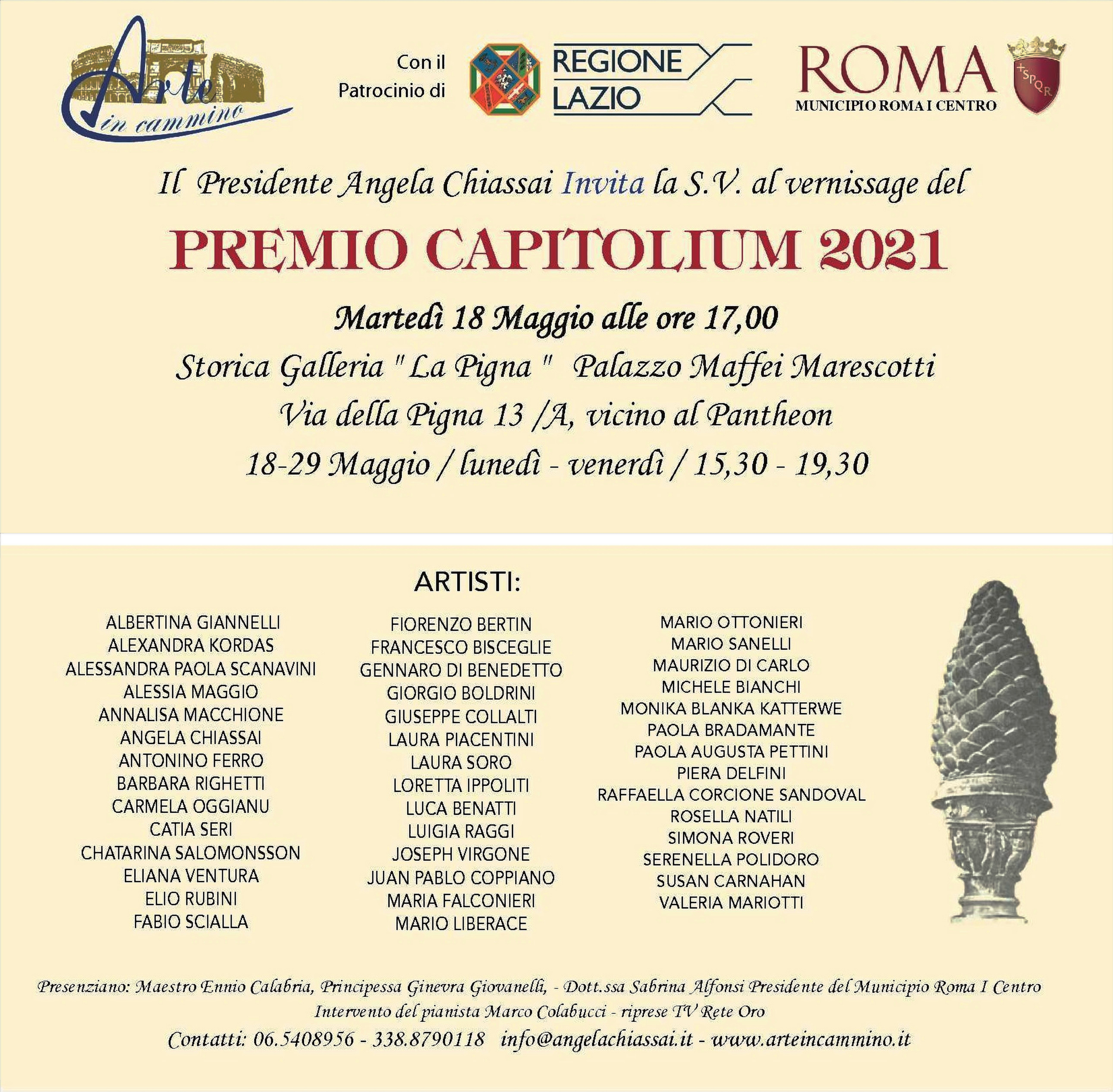 INVITO Capitolium 2021